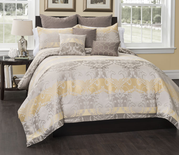 ... Contemporary Classic Style Comforter Bedding Set Macyu0027s Bloomingdaleu0027s  ...